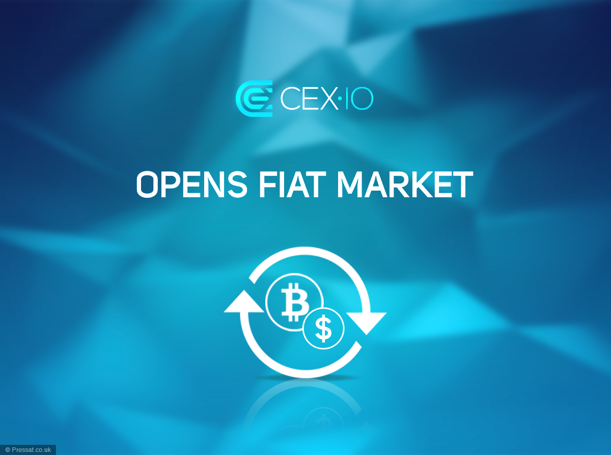 CEX.io Launches US Dollar Deposits and Trading Pairs