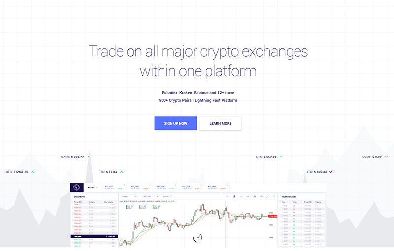Beta Version of BitsGap.com Goes Live, Allowing Crypto Trading through Multiple Platforms within a Single Interface