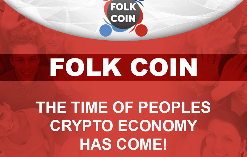 ICO Campaign Starts for FOLK COIN, a Cryptocurrency Created to Maximize the Benefits of People and Companies