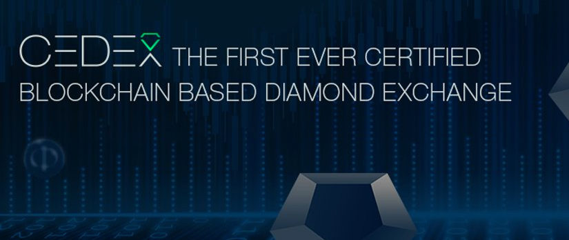 Meet CEDEX the world's first certified blockchain based Diamond Exchange