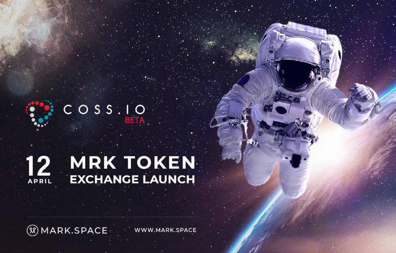 COSS.IO LAUNCHES TRADE OF MARK.SPACE PLATFORM'S MRK-TOKEN