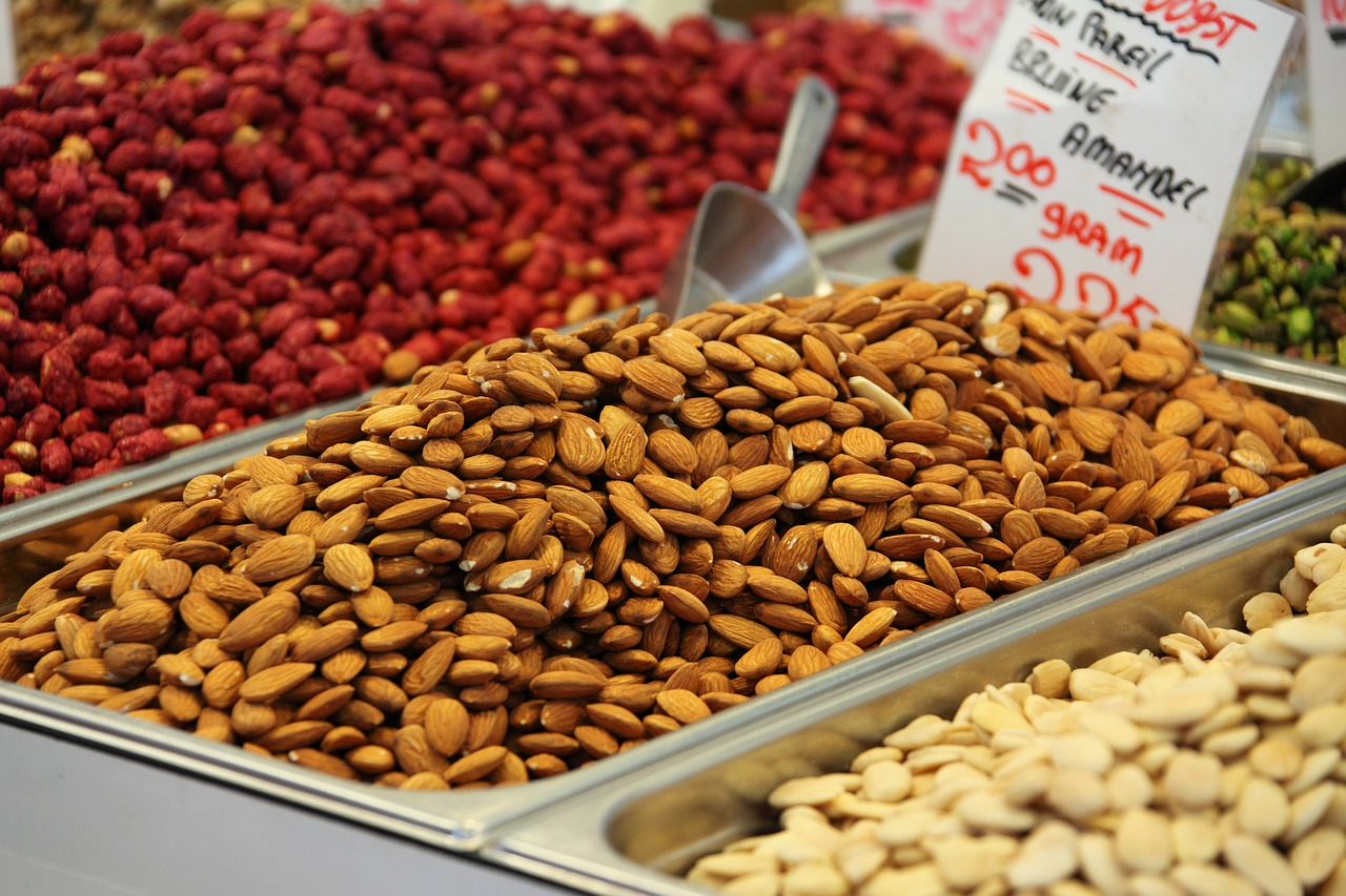 almonds packed with protein