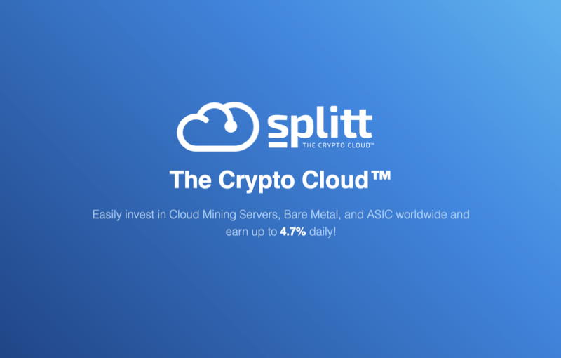 Splitt Introduces Advanced Cryptocurrency Cloud Server for More Profitable and Safe