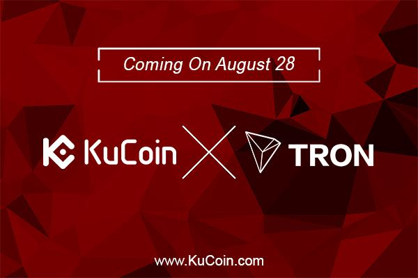 TRON (TRX) Announces Its Availability At KuCoin Exchange Platform