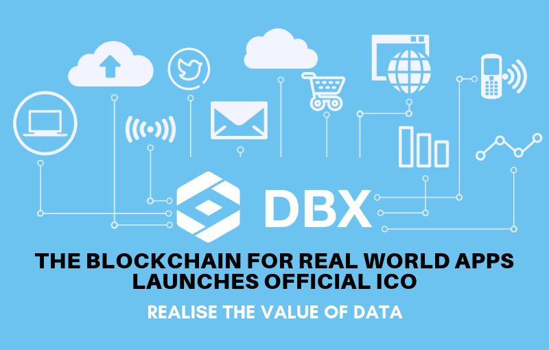 DBX – The Blockchain For Real World Apps Launches Official ICO