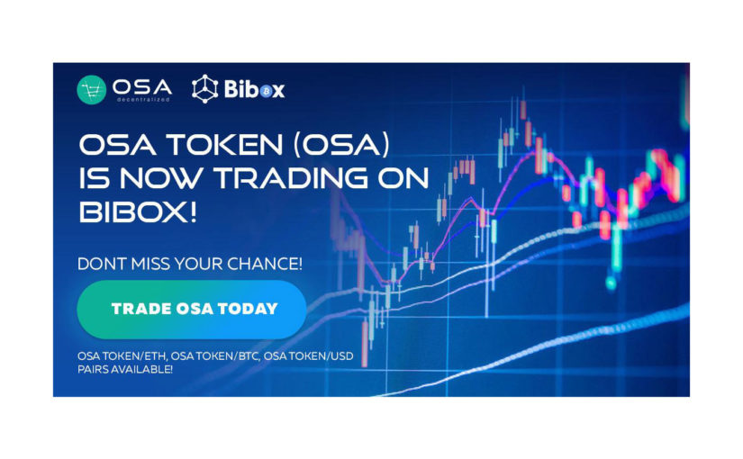 OSA Token Secures Listing at Bibox Exchange