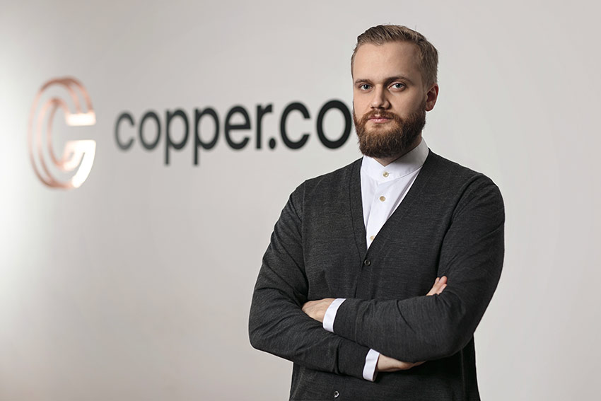Dmitry Tokarev, CEO and Founder of Copper