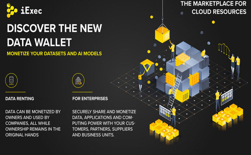 Enterprises can now rent AI and datasets on the blockchain, through iExec's new data wallet.