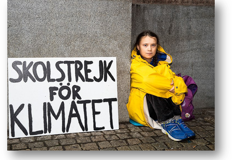 Greta Thunberg, the new ECO strategy and AQUIX coin, what is in common?