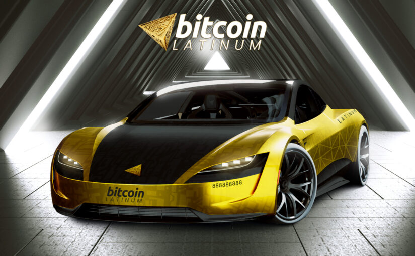 Win a Tesla Roadster With Bitcoin Latinum